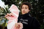 Magic Circle member - 15-year0old Nathaniel Allen