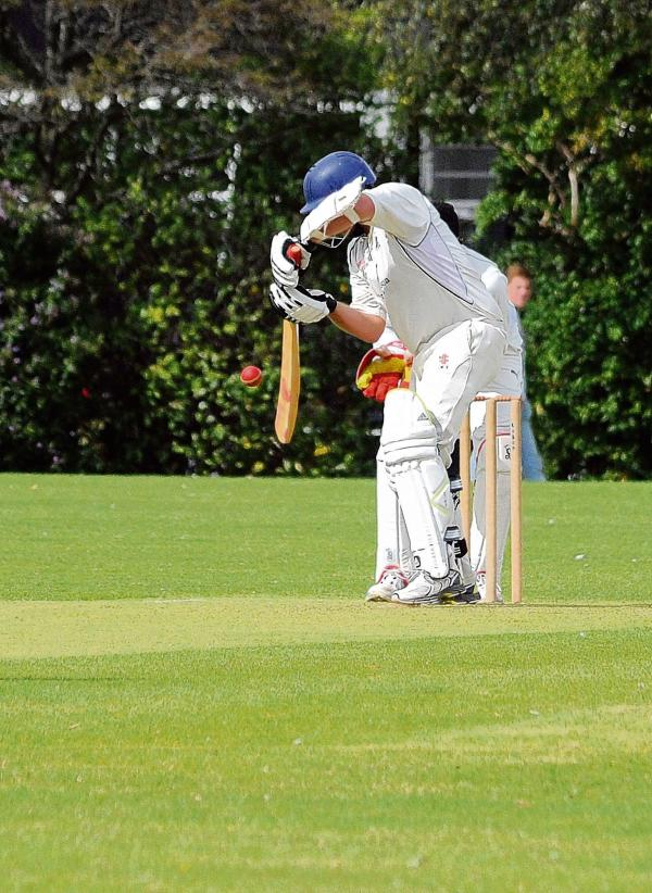 Concentration – David Hinnigan batting for Billericay