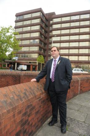 Parking row shoots down Trafford flats
