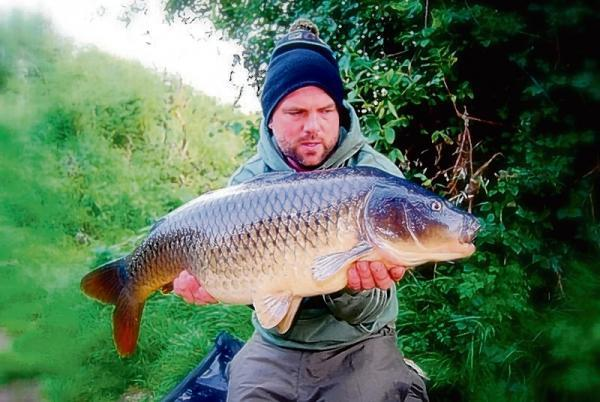 Got you – Ryan Owens with his 17lb common