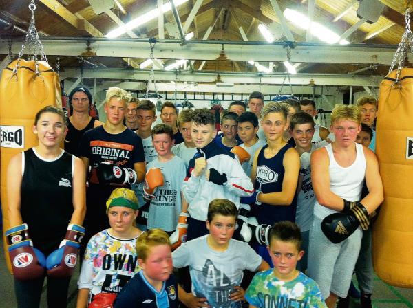 European journey – some of the Billericay Boxing Club fighters who are heading to Lithuania