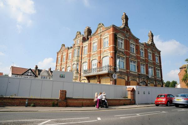 Has work stalled on Leigh's £4.5m Grand Hotel revamp?