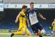 Barry Corr - had a header tipped over for Southend United in the second half