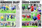 WEDNESDAY'S ECHO: Don't miss our two-page schools cross-country special