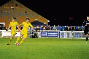 "Concord Rangers' Alex Woodyard praises ""magical"" FA Cup run after Mansfield Town defeat"