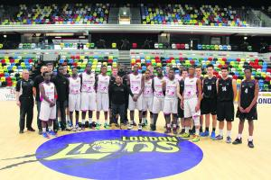 Seevic basketball team take the Copper Box by Storm