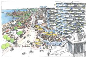 Do you welcome seafront plans?