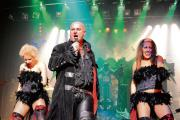 Rock on – Steve Steinman stars as the evil baron in Vampires Rock at the Cliffs Pavilion