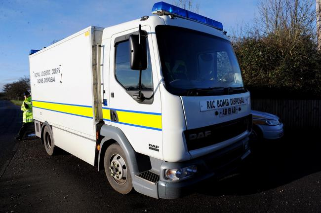 Bomb squad called to Barleylands to detonate device