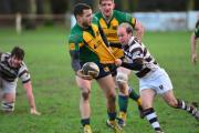 Tom Taylor - is loving playing his rugby at Southend Saxons