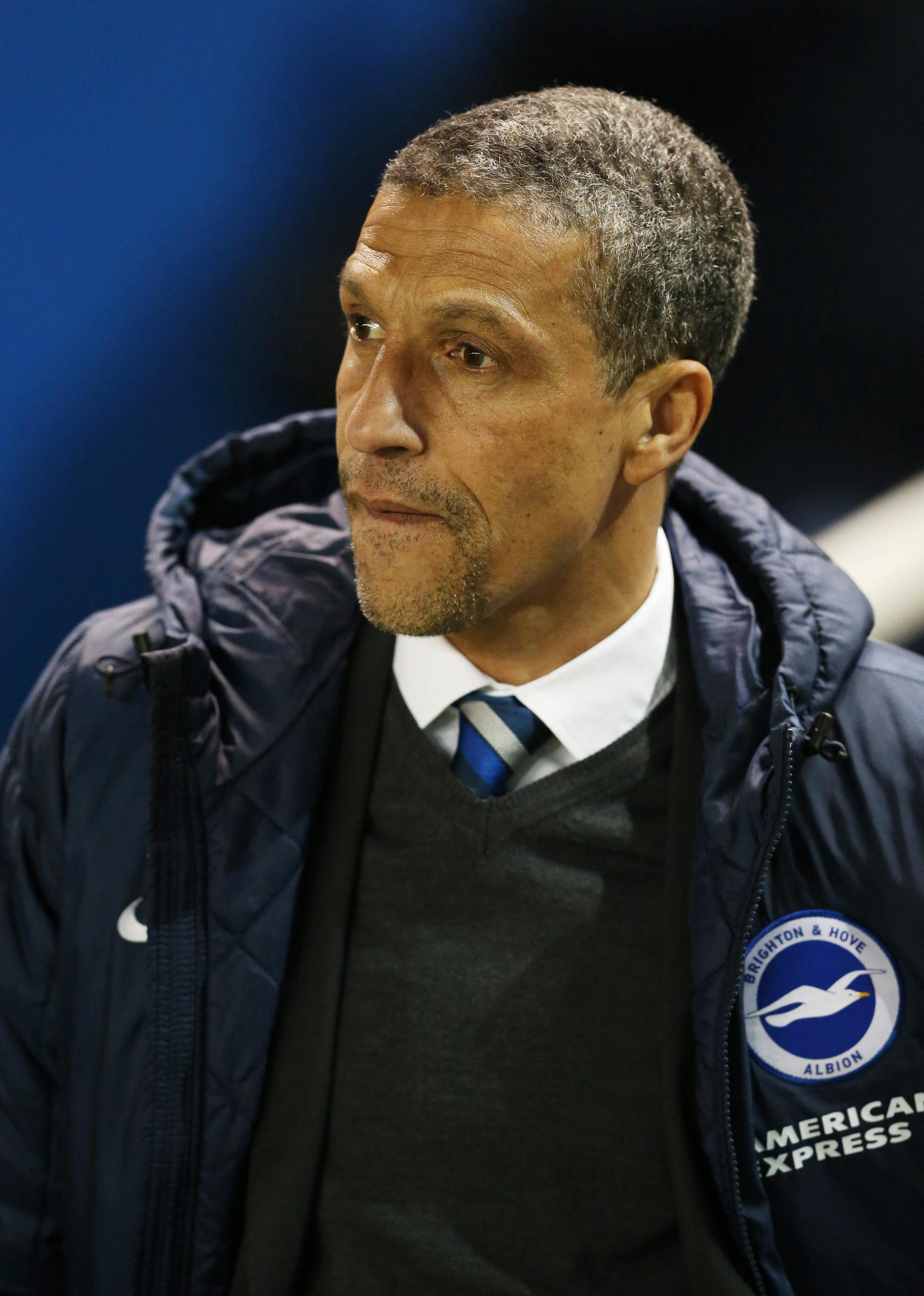 Chris Hughton - has been left surprised by Phil Brown's comments
