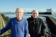 Councillors Neville Watson and Dave Blackwell are worried about possible future expansion