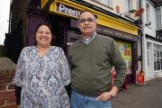 New venture - newsagents Anjana and Harish Panchal