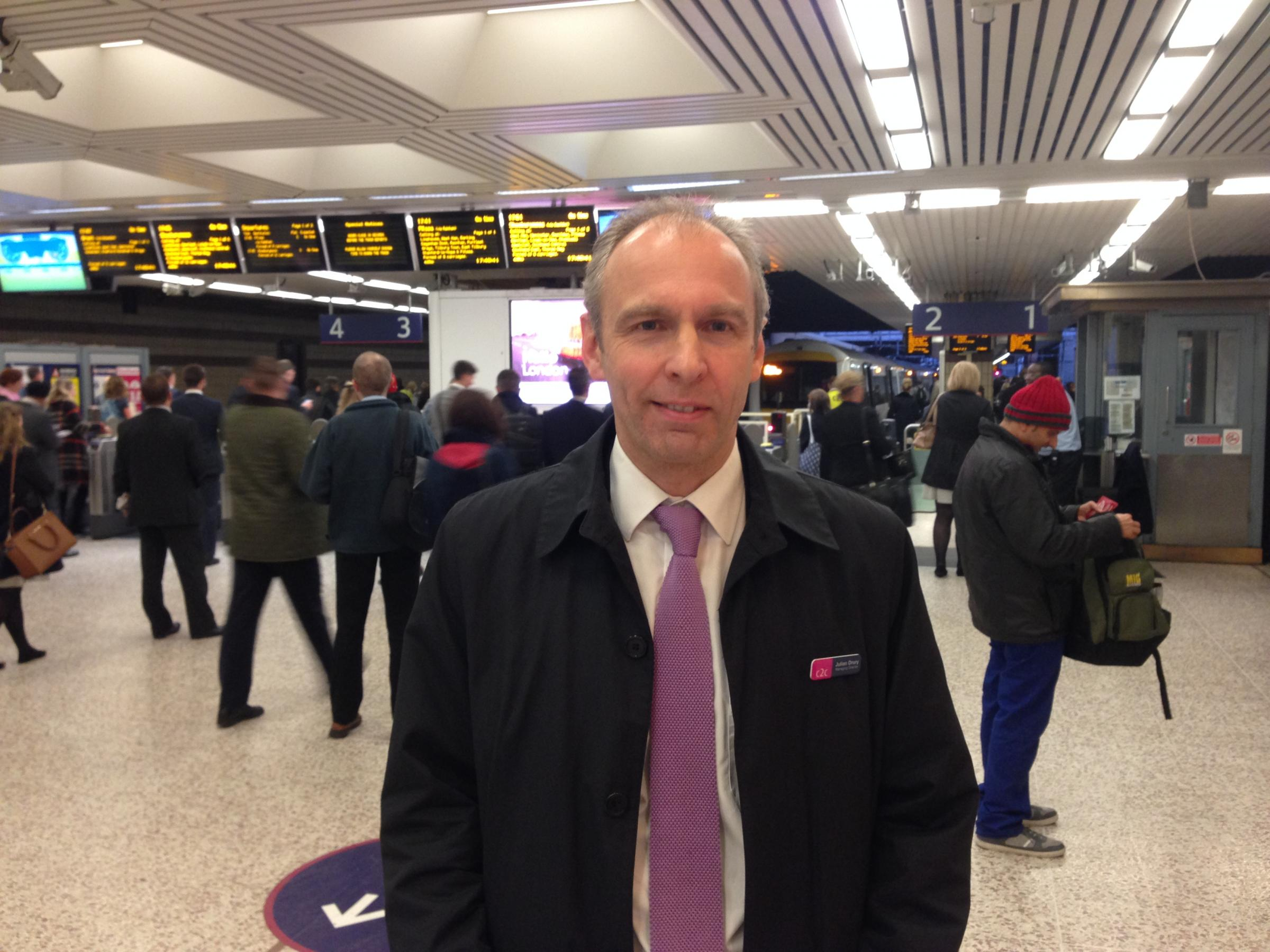 Commuter outrage shocks c2c boss
