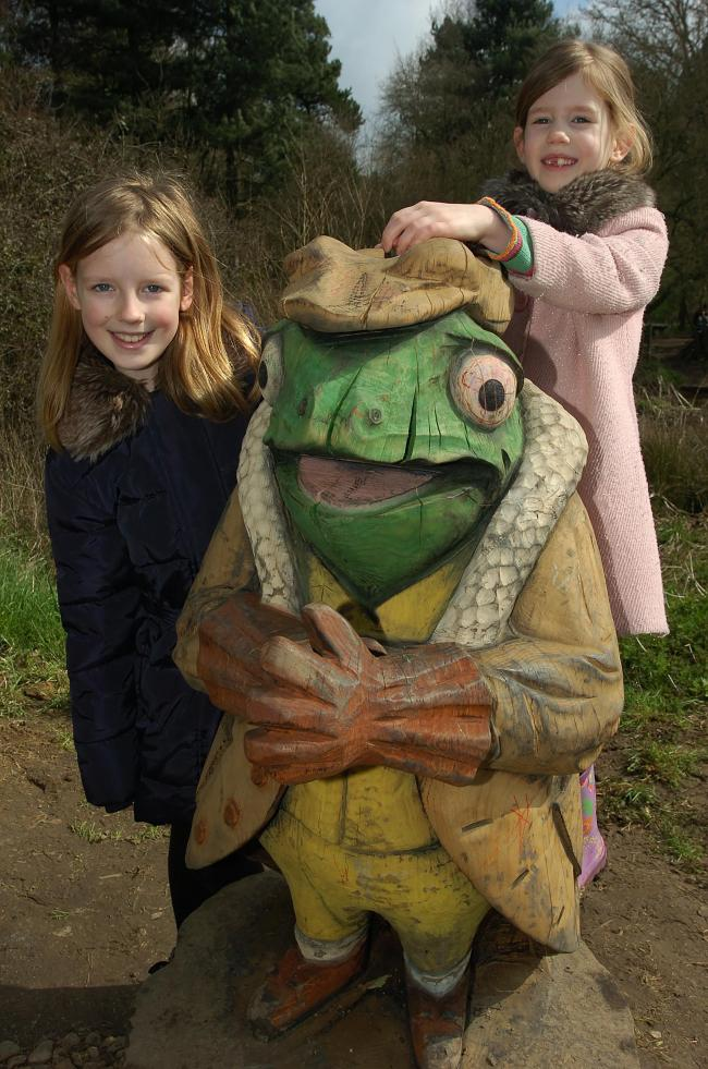 IN PICTURES: Wind in the Willows trail at Hanningfield Reservoir