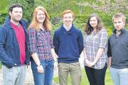 5 picked for blooming work experience