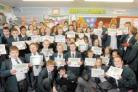 Celebration - Belhus Chase pupils were given certificates