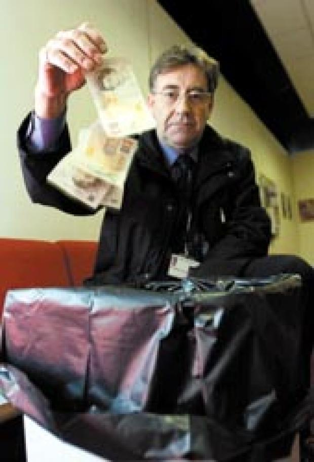 In the bin - Independent leader Martin Terry supports the report rapping Southend's financial management
