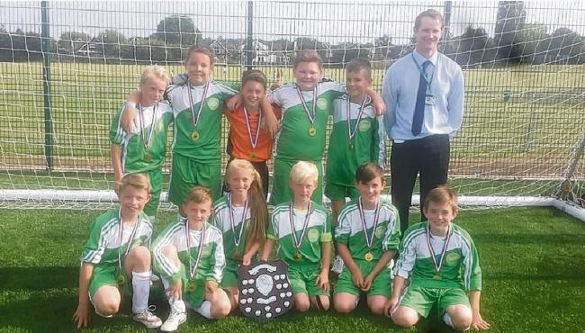 The Lincewood Year 6 football team