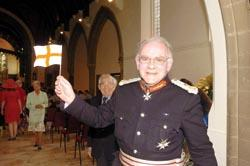 Echo: Lord Lieutenant Lord Petre at the service
