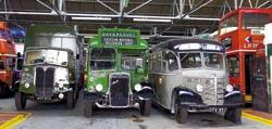 Memories are made of this - a selection of old vehicles from the museum