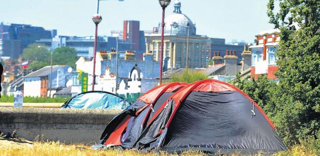Homeless-on-Sea: Why rough sleepers are turning to the seafront