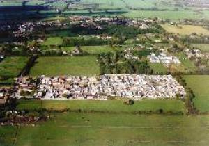 Massive development  an aerial shot of the Dale Farm site. Travellers are fighting for the right to have all the plots considered legal