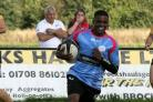 Hagen Mumba - among the try scorers for Thurrock