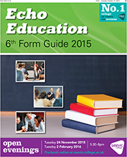 Echo: Echo Education 6th Form Guide 2015