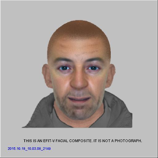 Police release E-fit of man wanted in connection with £20,000 candle theft