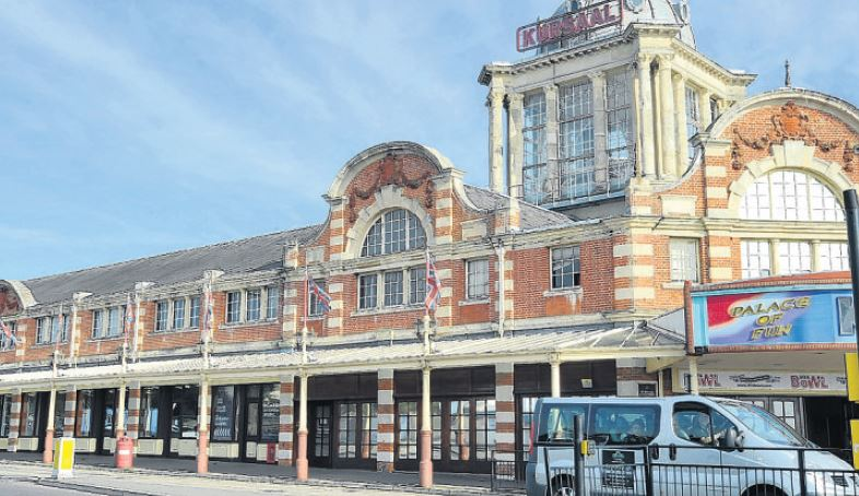 Southend's historic Kursaal building