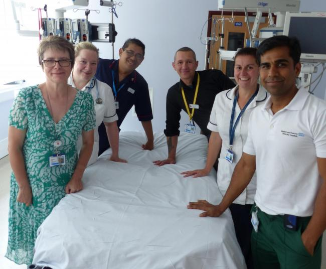 Working together – the multi-disciplinary therapy team in the critcal care unit