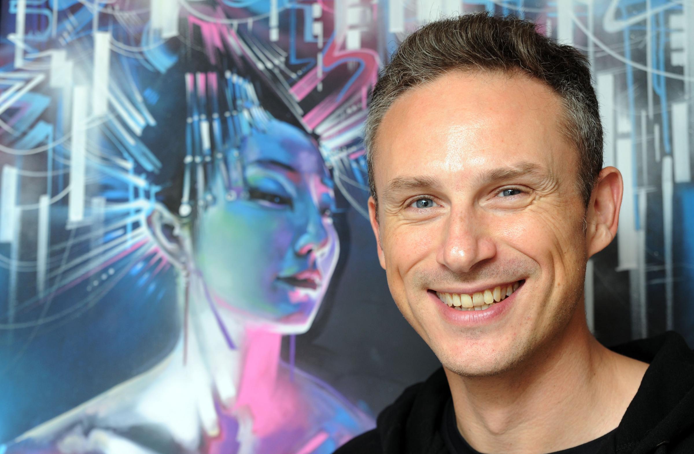 Artist Dan Kitchener aka DANK paints huge mural in Brick Lane called ...