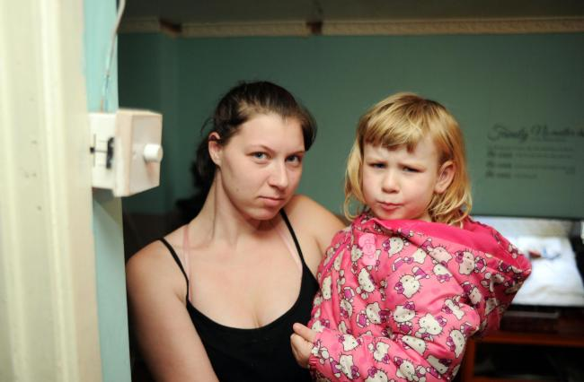 'Heating fault is making my three-year-old daughter sick'