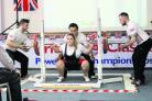 Leigh Wetheridge in action at the British Powerlifting Championships