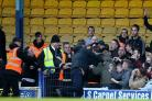 Police to investigate Southend fan's apparent charge at Colchester rivals