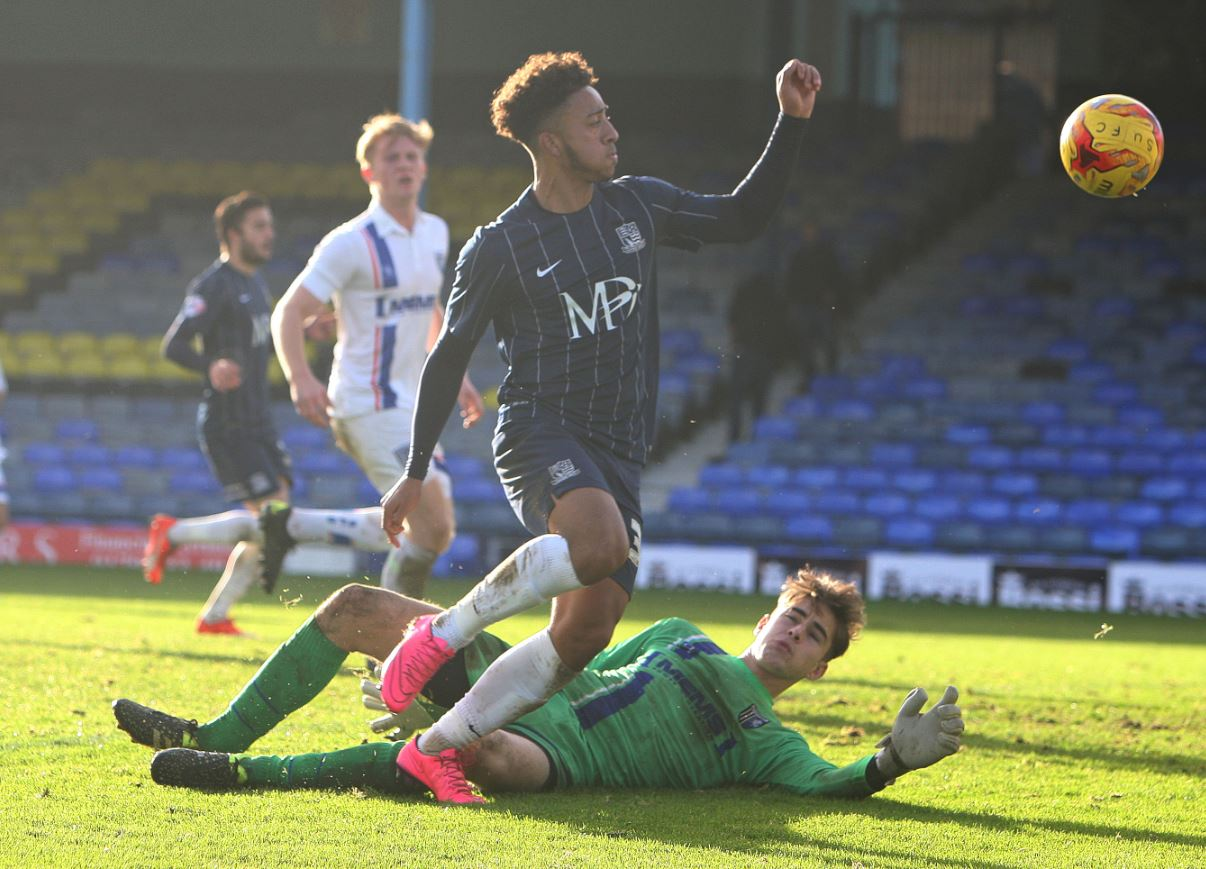 Nico Cotton - among those being offered a new deal by Southend United