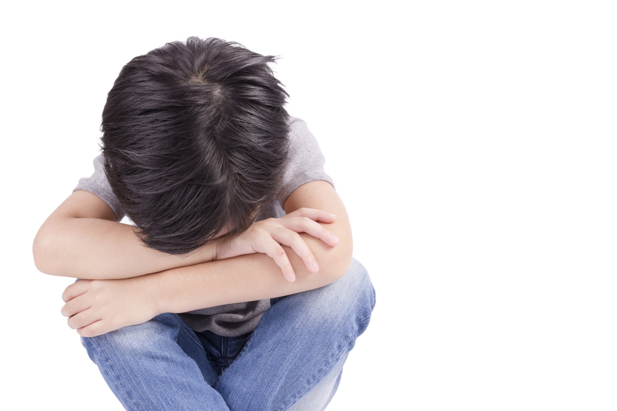 Huge rise in numbers of children who self harm