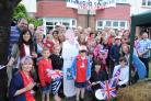 Jubilations - Hamboro Gardens residents' street party for the Queen's Diamond Jubilee in 2012.