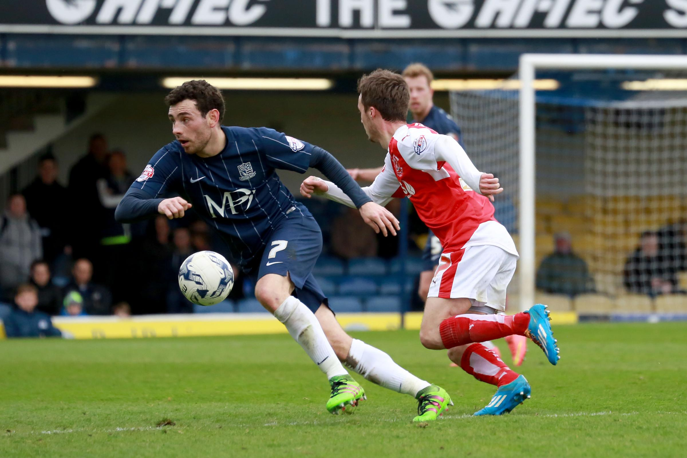 David Worrall - facing an uncertain future at Southend United