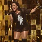 Echo: Demi Lovato shows support for transgender rights at Billboard Music Awards