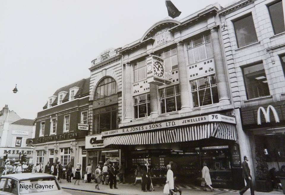 The jewellers became a neighbour to McDonalds