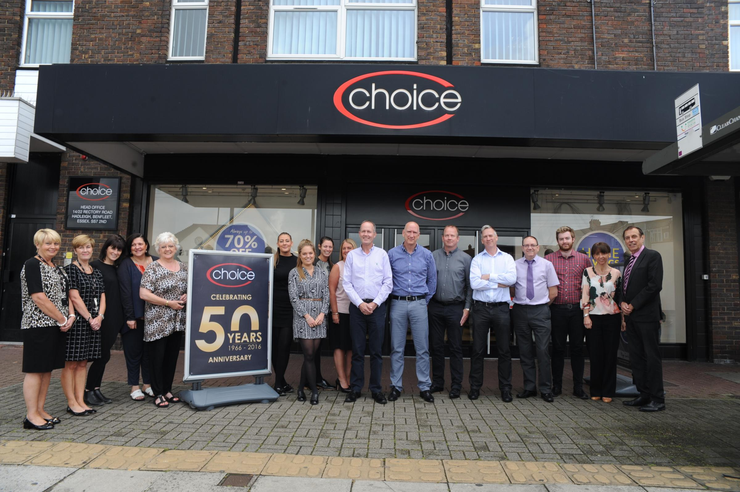 choice clothing romford number