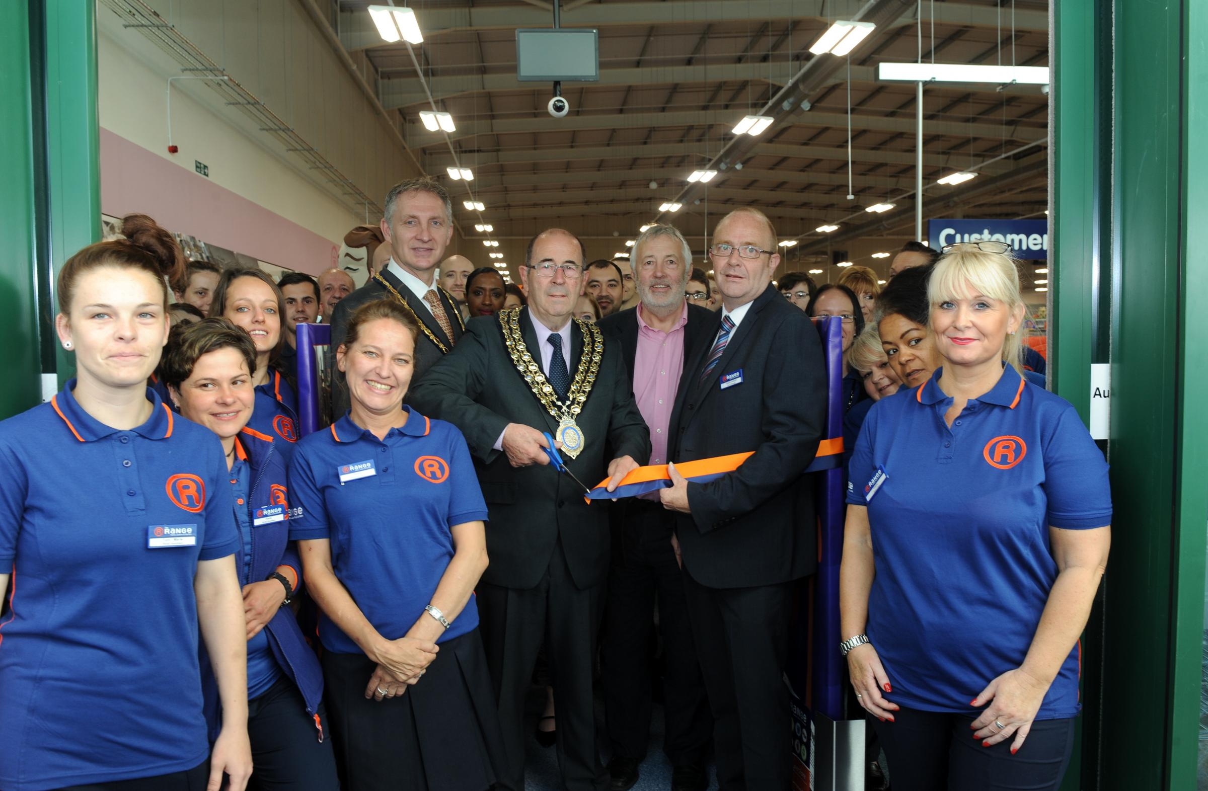 The Range opens in Pitsea