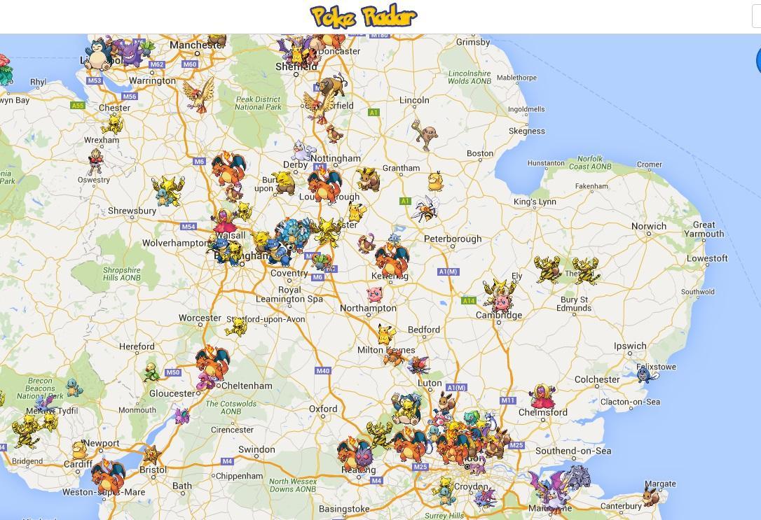 Pokemon Go Map Europe.Pokemon Go Where To Search For Rare Pokemon In Colchester Echo