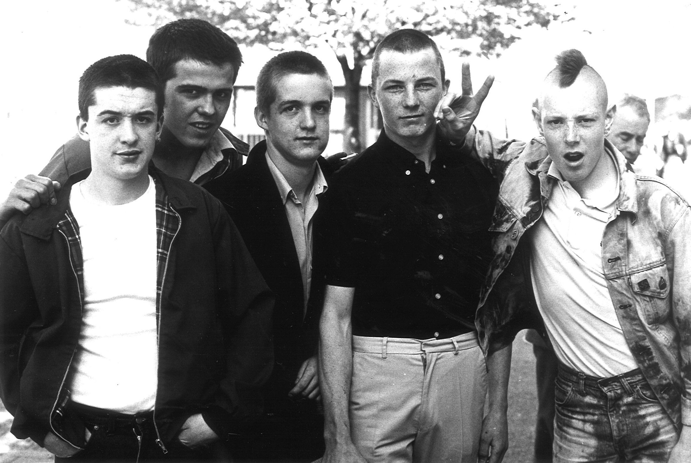 Why do not they catch skinheads because they are criminals 41