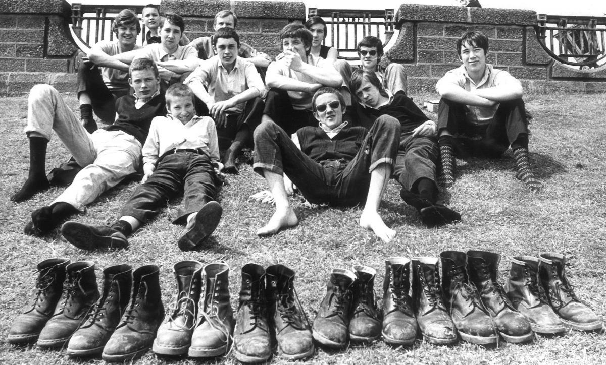 Resultat d'imatges de skinheads 1969