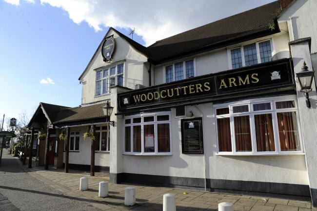 Fight - the Woodcutters Arms