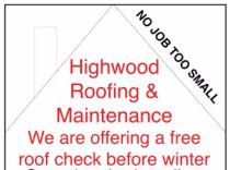 Highwood Roofing & Maintenance