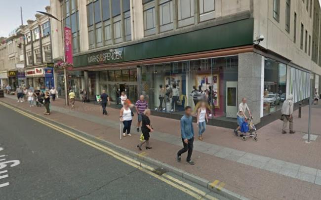 Kazmi approached a till worker at Marks and Spencer in Southend High Street